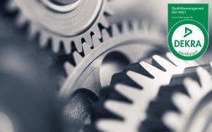 CRAMER Schleiftechnik ISO 9001:2015